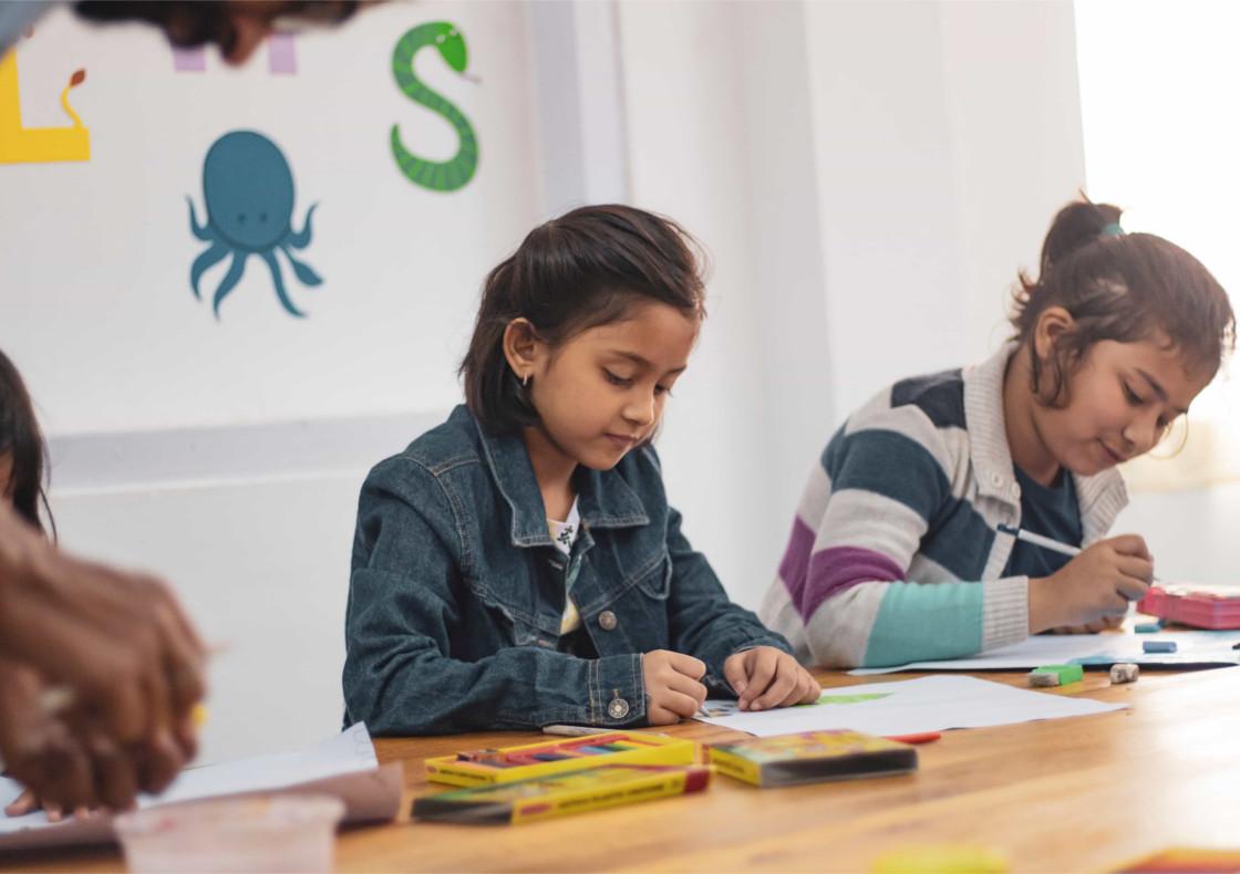 Starters-1 classroom